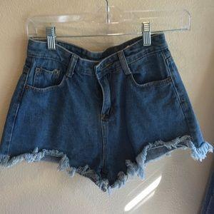 Pants - Jean shorts